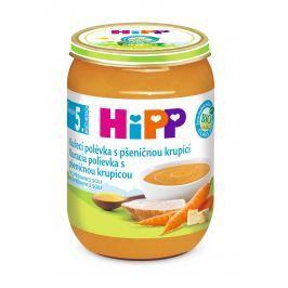 HiPP BIO Kuracia polievka s pšeničnou krupicou 6x190g