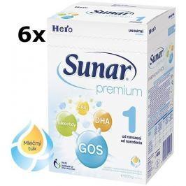 Sunar Premium 1, 6x600g