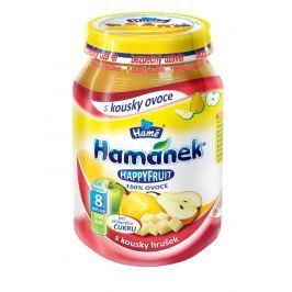 Hamánek HAPPYFRUIT 100% ovocia s kúskami hrušiek 6x190g