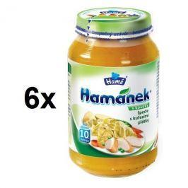 Hamánek Špecle s kuracími plátkami 6x230g