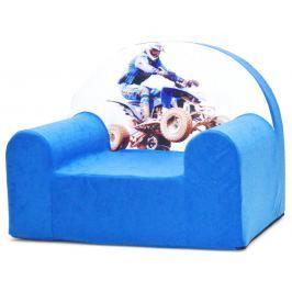 Baby Nellys Detské kresielko Štvorkolka v modrej