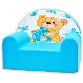 Baby Nellys Detské kresielko Míša Nellys v modrom