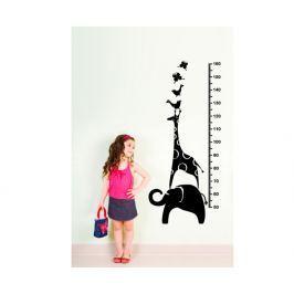 Ambiance Dekoračné samolepky - meter s žirafou a slonom