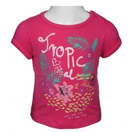Blue Seven Dievčenské tričko Tropical - ružové