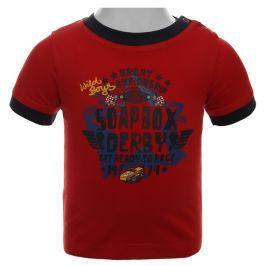 Blue Seven Chlapčenské tričko Soap Box - červené