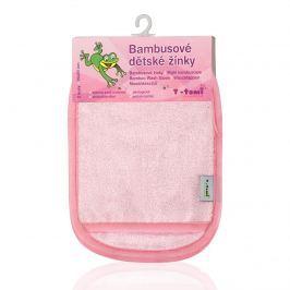 T-tomi Kúpacie žinky-rukavice, 2 kusy, ružová