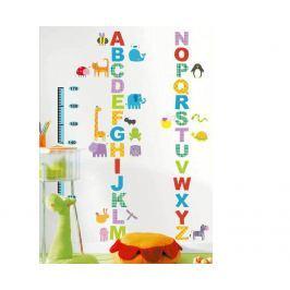 Ambiance Dekoračné samolepky - abeceda a zvieratká
