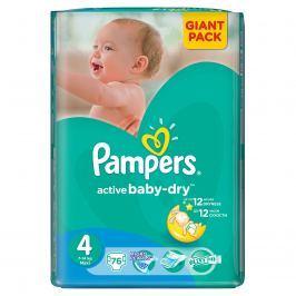 Pampers Active Baby 4 Maxi 7-14kg, 76 ks GIANTPACK - jednorázové plienky
