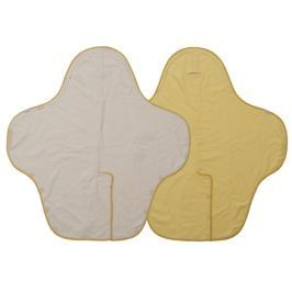 Lodger Zavinovačka / hracia deka Wrapper Motion Fleece Citrus