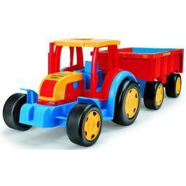 WADER Traktor Gigant s vlekom plast 102 cm