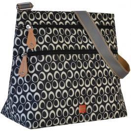 PacaPod JURA čierna - kabelka aj prebaľovacia taška