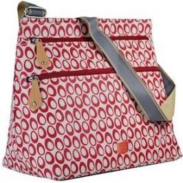PacaPod JURA červená - kabelka aj prebaľovacia taška