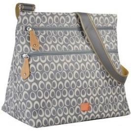 PacaPod JURA sivá - kabelka aj prebaľovacia taška