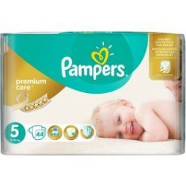 Pampers Premium Care 5 Junior, 44 ks (11-25 kg) - jednorazové plienky