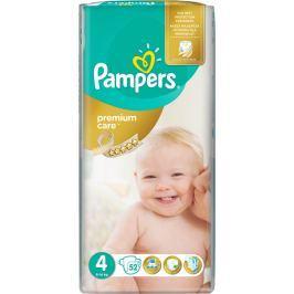 Pampers Premium Care Maxi 4, 52 ks (8-14 kg) - jednorazové plienky