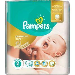 Pampers Premium Care 2, 22 ks (3-6 kg) - jednorazové plienky
