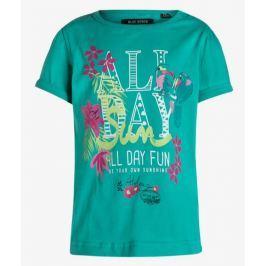 Blue Seven Dievčenské tričko Tropical - zelenomodré