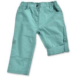 Blue Seven Dievčenské vyhrňovacie nohavice - tyrkysové