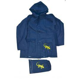 PIDILIDI Detská pláštenka Salamander - modrá