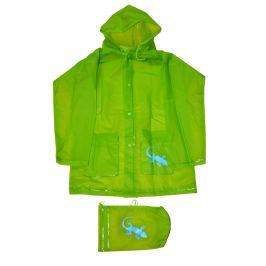 PIDILIDI Detská pláštenka Salamander - zelená