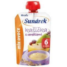 Sunárek kašička mix ovocie 120g
