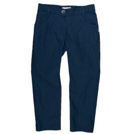 MMDadak Dievčenské nohavice Granat - tmavo modré