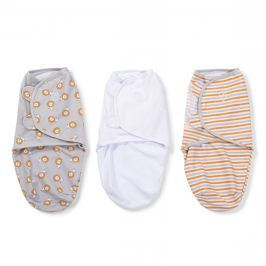 Summer Infant Zavinovačka SwaddleMe - Levy / prúžky, 3ks
