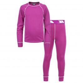 Trespass Dievčenské funkčné prádlo Mika - fuchsiové