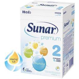 Sunar dojčenské mlieko Premium 2, 600g