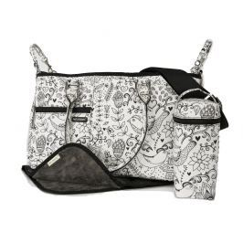 Melobaby Melotote LOVE black and white