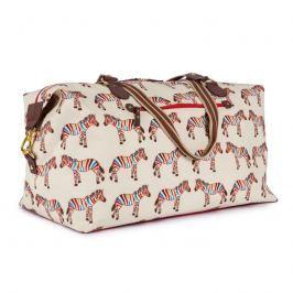 Pink Lining Veľká taška Zebry