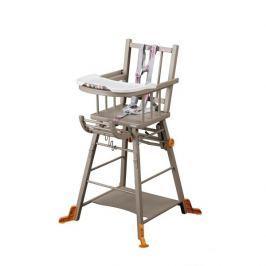 Combelle Rozkladacia jedálenská stolička, sivá