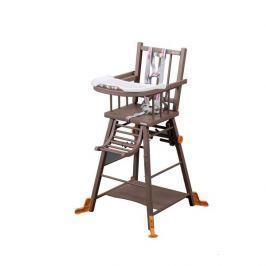 Combelle Rozkladacia jedálenská stolička, hnedá