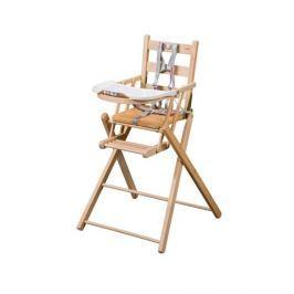 Combelle Skladacia jedálenská stolička, natural