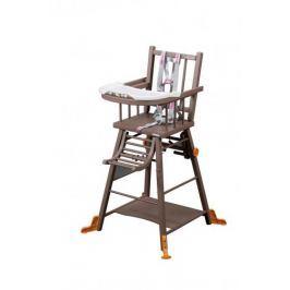 Combelle Skladacia jedálenská stolička, hnedá