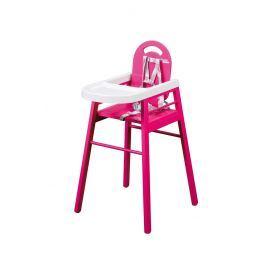 Combelle Jedálenská stolička Lili, vínová