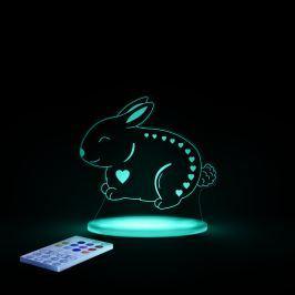 Aloka Nočné svetielko Zajačik + ovládač pre voľbu farieb