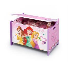 Delta Drevená truhla na hračky Princezné