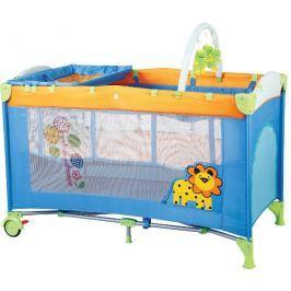 BabyGO Cestovná postieľka Sleepwell Zoo