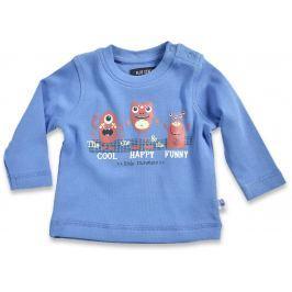 Blue Seven Chlapčenské tričko Little monsters - modré