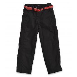 Blue Seven Dievčenské nohavice s opaskom - čierne