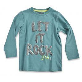 Blue Seven Chlapčenské tričko Let it Rock - zelené