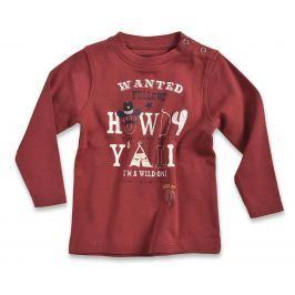 Blue Seven Chlapčenské tričko Cowboy - červené