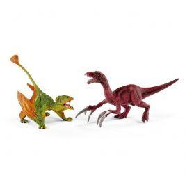 Schleich Prehistorická súprava Dimorphodon a Therizinosaurus malí