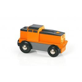 Brio Elektrická nákladná lokomotíva (batérie AA nie je súčasťou) jazdí len dopredu, dotyková