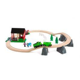 Brio Vláčkodráha s mostom a koňom