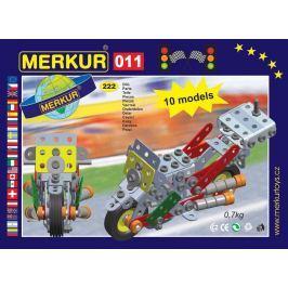 Merkur Stavebnica 011 Motocykel 10 modelov - 230 ks