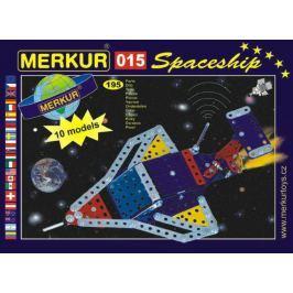 Merkur Stavebnica 015 Raketoplán 10 modelov - 195 ks