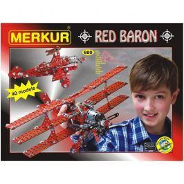 Merkur Stavebnica Red Baron 40 modelov - 680 ks