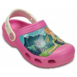 Crocs Dievčenské sandále Creative Crocs Frozen Fever Party Pink Oyster
